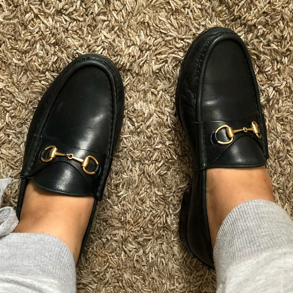f0c35ffc80e Gucci Shoes - GUCCI classic leather horsebit loafers